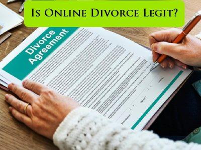 is online divorce legal